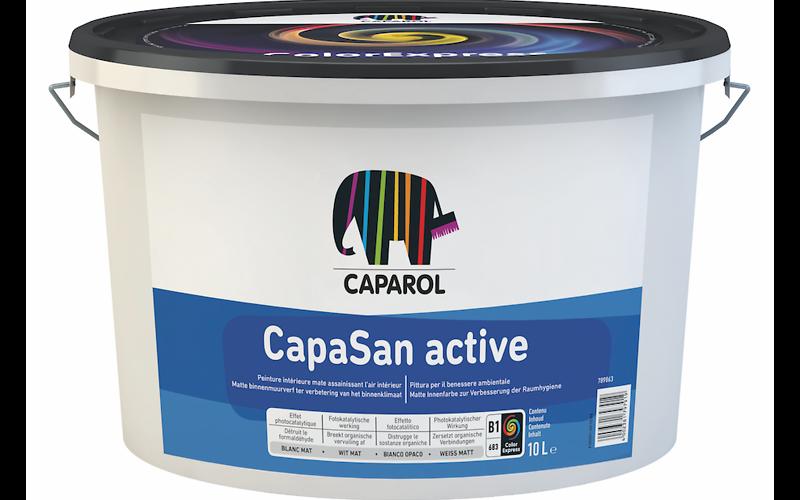 Pitture Fotocatalitiche Per Interni.Capasan Active
